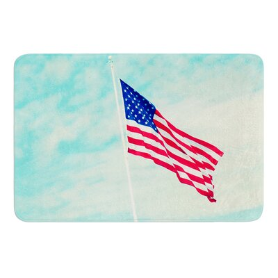 USA Colors by Robin Dickinson Bath Mat
