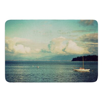 Must Sea by Robin Dickinson Bath Mat