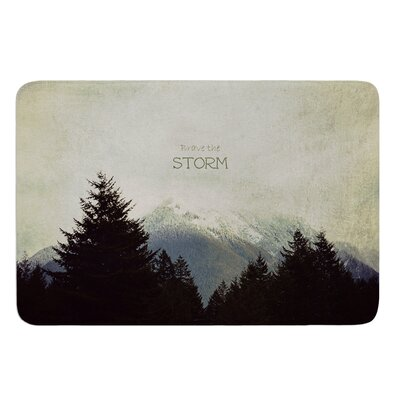 Brave The Storm by Robin Dickinson Bath Mat