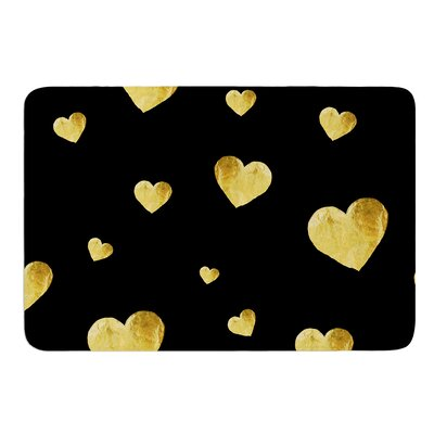 Floating Hearts by Robin Dickinson Bath Mat