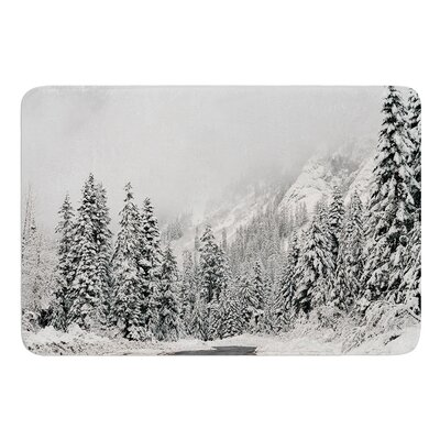 Winter Wonderland by Robin Dickinson Bath Mat