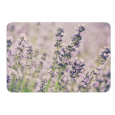 Smell the Flowers by Robin Dickinson Bath Mat