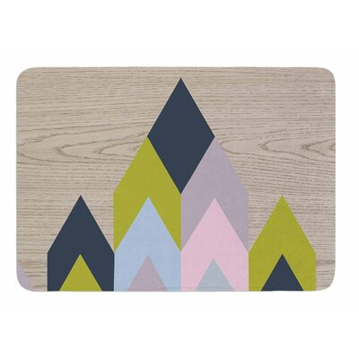 Woodgrain by Suzanne Carter Bath Mat