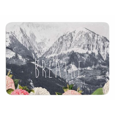 Breathe by Suzanne Carter Bath Mat