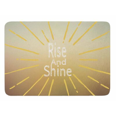 Rise And Shine by Suzanne Carter Bath Mat