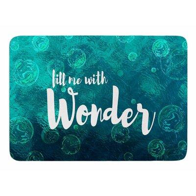 Wonder 2 by Suzanne Carter Bath Mat