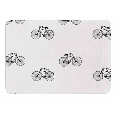 Vintage Wheels by Suzanne Carter Bath Mat