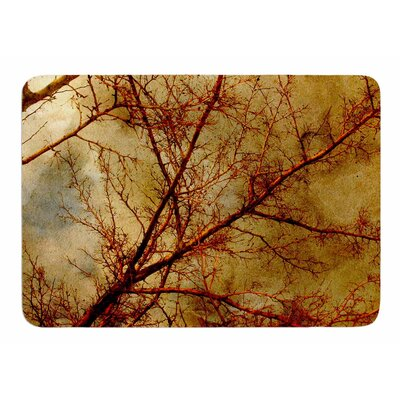 Gothic Red Tree by Sylvia Coomes Bath Mat