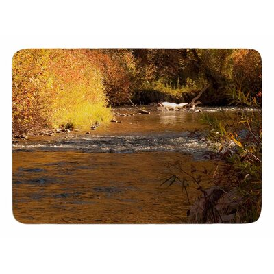Autumn Stream by Sylvia Coomes Bath Mat