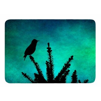 Bird Silhouette by Sylvia Coomes Bath Mat