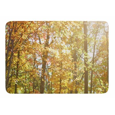 Autumn Trees 2 by Sylvia Coomes Bath Mat