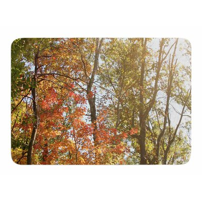 Autumn Trees 1 by Sylvia Coomes Bath Mat