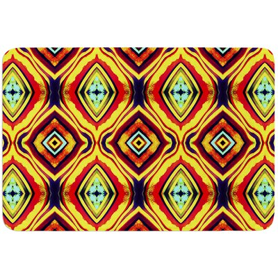 Diamond Light by Anne LaBrie Bath Mat Size: 17W x 24L