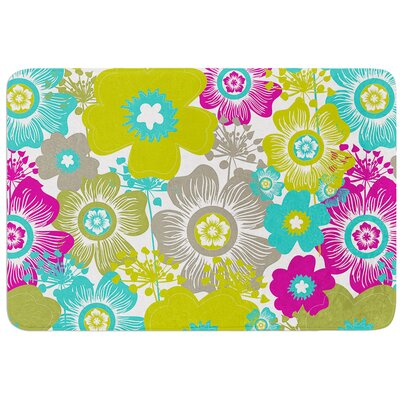 Little Bloom by Nicole Ketchum Bath Mat