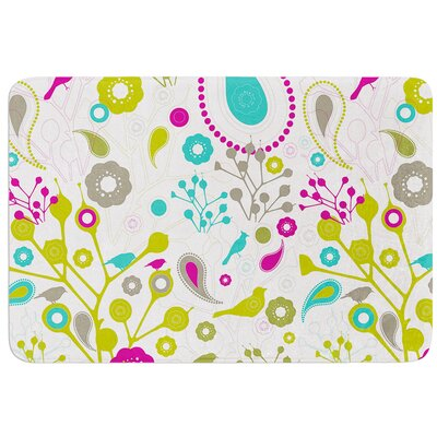 Bird Fantasy by Nicole Ketchum Bath Mat