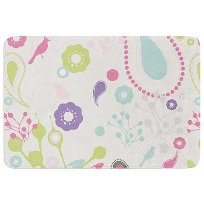 Bird Song by Nicole Ketchum Bath Mat