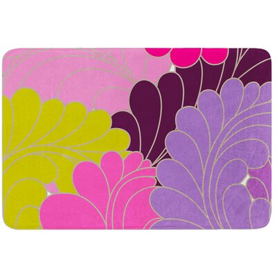 Moroccan Leaves by Nicole Ketchum Bath Mat