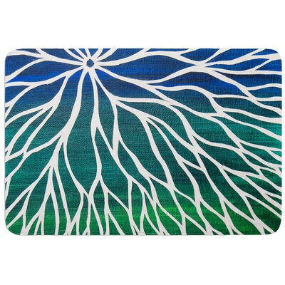 Ocean Flower by NL Designs Bath Mat