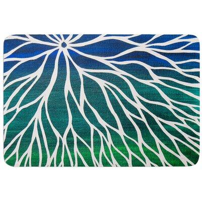 Ocean Flower by NL Designs Bath Mat