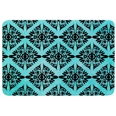 Eye Symmetry Pattern by Pom Graphic Design Bath Mat