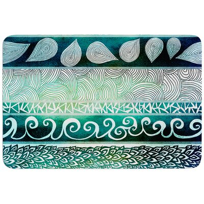 Dreamy Tribal by Pom Graphic Design Bath Mat