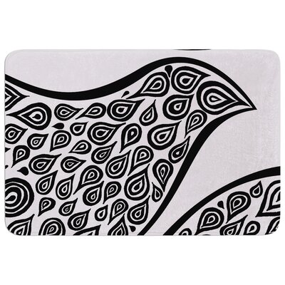 Bird in Disguise by Pom Graphic Design Bath Mat