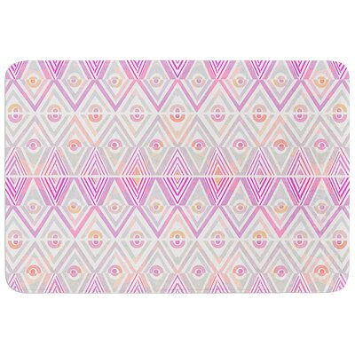 Soft Petal Tribal by Pom Graphic Design Bath Mat