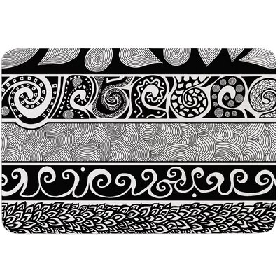 Tribal Evolution by Pom Graphic Design Bath Mat