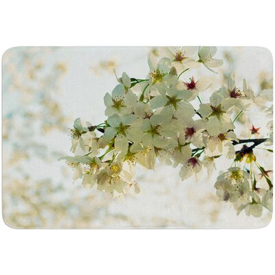 Cherry Blossoms by Robin Dickinson Bath Mat
