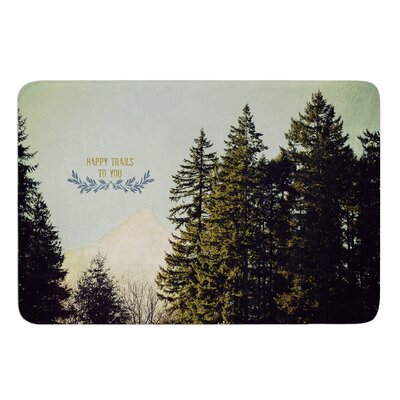 Happy Trails by Robin Dickinson Bath Mat