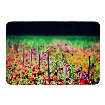 Live in the Sunshine by Robin Dickinson Bath Mat