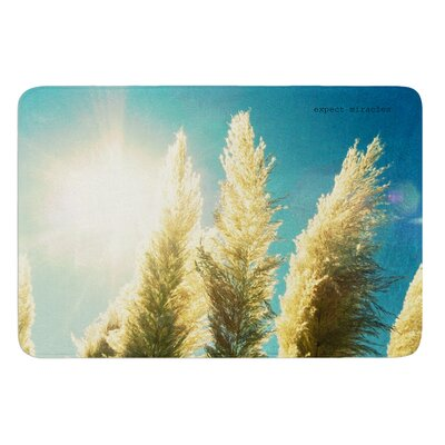 Ornamental Grass by Robin Dickinson Bath Mat
