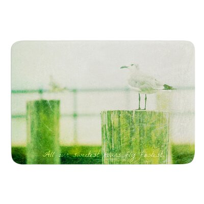 Sweetest Hours by Robin Dickinson Bath Mat