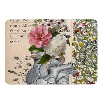 Her Heart Is A Garden by Suzanne Carter Bath Mat