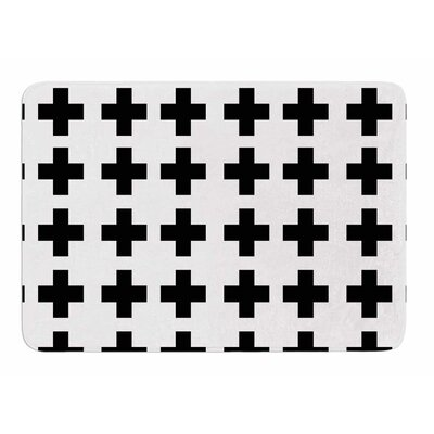 Swedish Cross by Suzanne Carter Bath Mat