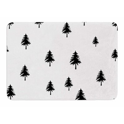 Pine Tree by Suzanne Carter Bath Mat