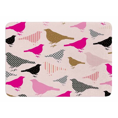 Chirp by Suzanne Carter Bath Mat