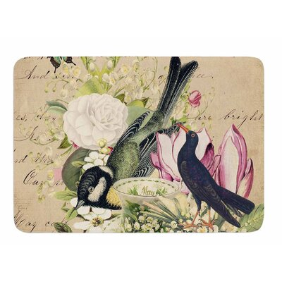 Vintage Tea by Suzanne Carter Bath Mat