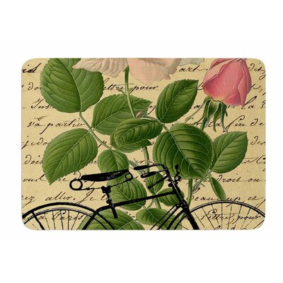 Vintage Cycle by Suzanne Carter Bath Mat