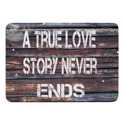 True Love by Suzanne Carter Bath Mat