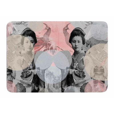 Kyoto Girl by Suzanne Carter Bath Mat