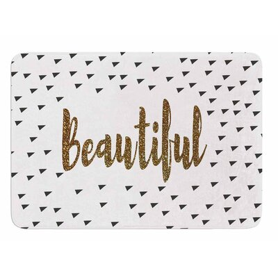 Beautiful by Suzanne Carter Bath Mat