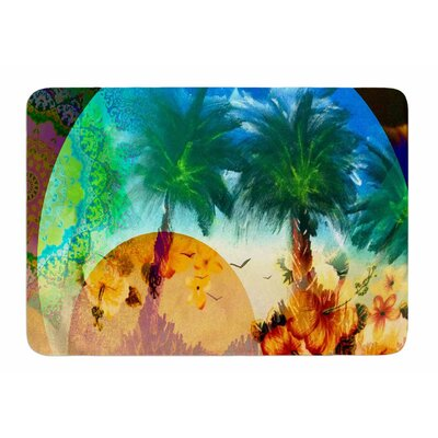 Paradise Patterns by Infinite Spray Art Bath Mat