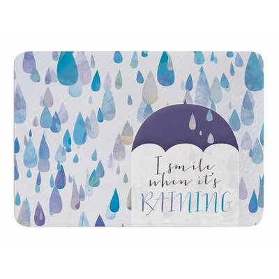 I Smile When Its Raining by Noonday Design Bath Mat