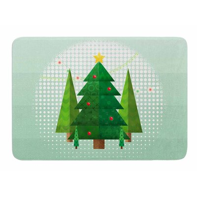 Geometric Christmas Tree by Noonday Design Bath Mat
