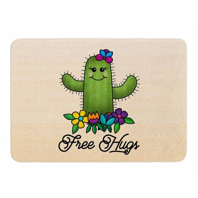 Free Hugs Cactus by Noonday Design Bath Mat