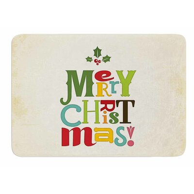 Merry Christmas by Noonday Design Bath Mat