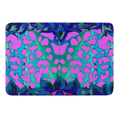 Cerruda Blue Orchid by Nina May Bath Mat