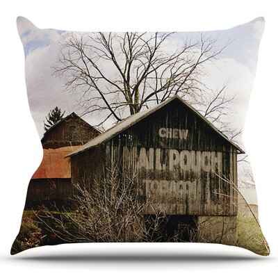 Mail Pouch Barn by Angie Turner Outdoor Throw Pillow