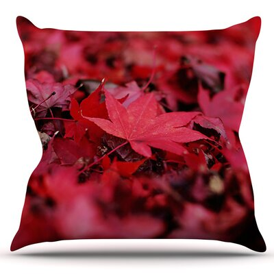 Leaves by Angie Turner Outdoor Throw Pillow